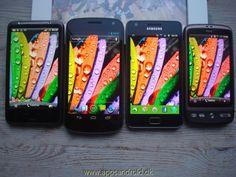 HTC Desire HD vs Galaxy Nexus vs Samsung Galaxy S 2 vs HTC Desire (Amoled).