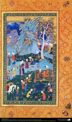 A masterpiece of Persian miniatures - Moraqqaʿ-e Golšan 1605-1628 شاهکار مینیاتور فارسی - کتاب کوچک مرقع گلشن: