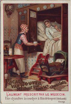 19thc.van Houten♥cacao 1828, alkalizing invented,1850, Van Houten starts exporting. per vanhoutendrinks.com. assume adverts after this date.