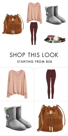 """""""Jaden's creation"""" by imthelifeoftheparty ❤ liked on Polyvore featuring MANGO, Topshop, UGG Australia, Vince Camuto, women's clothing, women, female, woman, misses and juniors"""