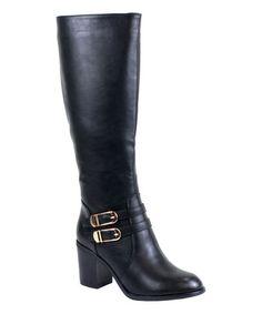 Look what I found on #zulily! Black Pipa Boot #zulilyfinds