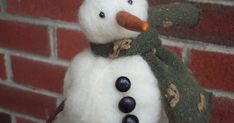 Michelle Palmer: Needle Felted Snowmen...How to...