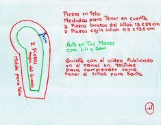 Arte en Tus Manos con Lili y Sam: Sillón para Santa Claus con Material Reciclado, Paso a paso