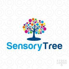 Logo shows an abstract tree. It will fit anyone searching for a fun-looking & colourful abstract tree. Logo recommended for a pre-school, toys for kids, a school for young kids, a kindergarden or kids daycare, children photographer, montesorri.