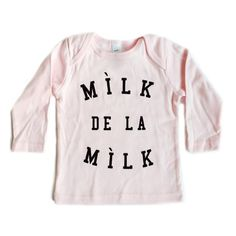 Mílk de la Mílk Long Sleeve Shirt (Pink)