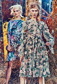 "maha-alk:  thefashionbubble:  Sasha Luss & Julia Nobisin ""Field Day"" for W Magazine February 2014, ph. by Craig McDean.  (via TumbleOn )"