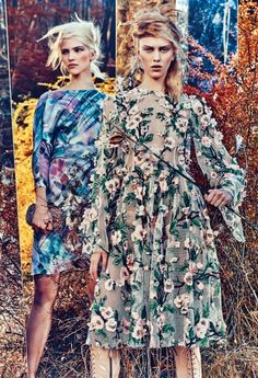 "maha-alk:  thefashionbubble:  Sasha Luss & Julia Nobis in ""Field Day"" for W Magazine February 2014, ph. by Craig McDean.  (via TumbleOn )"