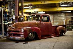 Stoner's Speed Shop | Hudson, IA | 1954 Red 5 Window LS2