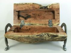 Found this grat piece of wood in our back pasture. Love burl wood. Enjoy. Texas Made. XX Ranch Art etsy.com/listing/157993656/mesquite-jewelry-box-or-trinket-box-made