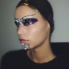 "fuckirstin: ""the look at the Margiela couture show makeup by #patmcgrath #jgalliano """