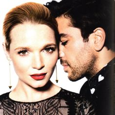 Karoline Herfurth and Elyas M'Barek. Love that picture!
