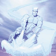 Iceman screenshots, images and pictures - Comic Vine Comic Book Characters, Marvel Characters, Comic Books Art, Comic Art, Iceman Marvel, Marvel Heroes, Marvel Comics, X Men, Make A Comic Book