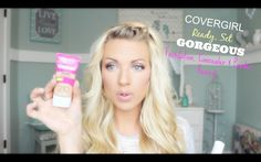 ❤ NEW Covergirl Ready Set Gorgeous Foundation, Concealer & Powder Review...