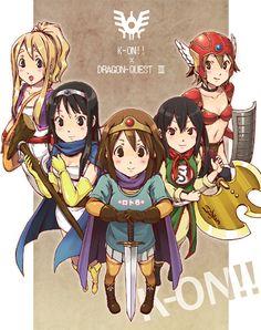 K-On! meets Dragon Quest by 古都はいぢ@1日目ラ-03b