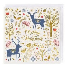 Deer Merry Christmas Card