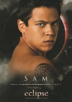 Twilight saga Eclipse trading card Sam,18