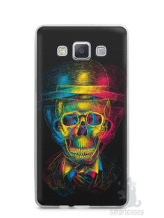 Capa Capinha Samsung A7 2015 Caveira #7