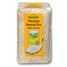 Био бял Хималайски ориз Басмати 500 гр. - Даверт | Био ориз | MaxLife