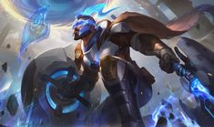 The skins are available for testing now on the League of Legends PBE. Lol League Of Legends, Pantheon League Of Legends, League Of Legends Characters, Character Concept, Character Art, Concept Art, Character Design, Zooey Deschanel, Death Note