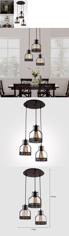 Chandeliers And Ceiling Fixtures 117503 Pendant Light 3 Lamps Fixture Chandelier Kitchen Dining Room
