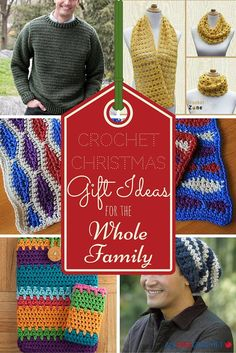 25 Crochet Christmas Gift Ideas for the Whole Family | AllFreeCrochet.com