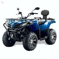 Cforce 450s quad bike for farm use. ATV and farm quad bikes from Quadzilla for smallholder farmers. 4WD system ideal for towing ATV trailers, paddock cleaners, paddock toppers, flail mowers, chain harrows. For more info:  http://www.fresh-group.com/farm-quad.html