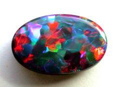 Lightning Black Opal Black Opal From Lightning