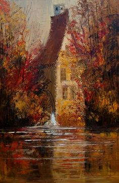 """Justyna Kopania ~ Collection of oil Paintings """"Inspirations"""" 2011 Landscape Art, Landscape Paintings, Oil Paintings, Contemporary Artists, Modern Art, Fantastic Art, Painting Inspiration, Traditional Art, New Art"""