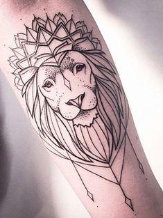e10e6e09ffd88 Lion Tattoo Design, Tattoo Designs Men, Lioness Tattoo, Meaningful Tattoos,  Sexy Tattoos