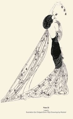Drawings and Illustrations by Alastair Art Deco Illustration, Graphic Illustration, Art Deco Artists, Nostalgic Images, Art Deco Design, Figurative Art, Art Deco Fashion, Graphic Prints, Illustrators
