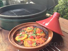 Beef  Tagine with Sweet Potatoes on  the Braai/BigGreenEgg