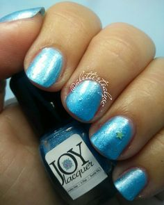 Joy Lacquer Unnamed blue mystery polish