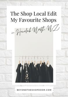 Shop Local Edit - My Favourite Shops in Havelock North. With wreaking havoc on local economies, shopping local has become more important than ever. Fashion Coffee Table Books, Havelock North, Beautiful Cover, Cool Cafe, Black And White Design, Shop Local, Thing 1 Thing 2, New Zealand, Cool Style