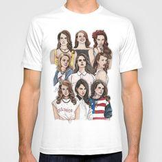 Lana Del Rey Wallpaper T-shirt