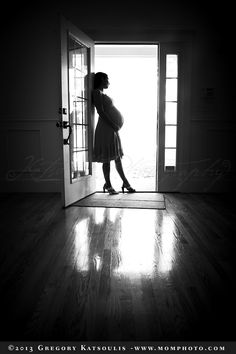 Silhouette - #Maternity Photography