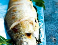 Grilled whitefish, Finnish Food, June 2016
