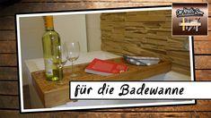Diy | Für Die Badewanne | Badewannen Ablage | Holz   YouTube