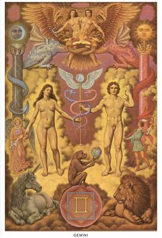 The Kybalion is an esoteric and occult book about the Hermetic Principles, was first published in 1908 in English. The book was written by three self-titled Individuals Three Initiates, and second they contain the essence of the teachings of Hermes Trisme Esoteric Art, Mystique, Adam And Eve, Visionary Art, Sacred Geometry, Tarot Cards, Zodiac Signs, Artwork, Tantra
