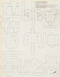TM SGM RSI, Typografische Monatsblätter, issue 4, 1971. Cover designer: Ludwig Suter