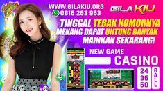 GILAKIU   POKER   DOMINO 99   BOLATANGKAS   KENO ROULETTE LIVE BALL Poker, Dan, Live