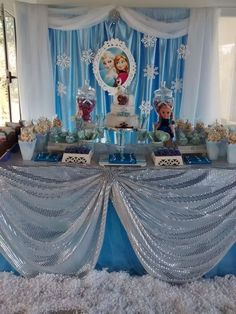 Tips para decorar una fiesta temática Frozen