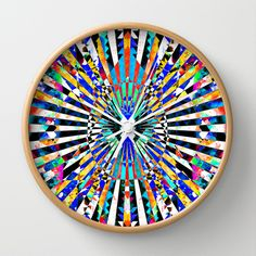 MAGNOPOLES Wall Clock by Chrisb Marquez - $30.00
