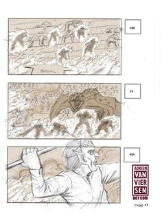 Game of thrones storyboards: The fighting Pit of Daznak 37