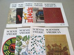 Scientific American Magazine 1972 & 1974 9 Issues ~ Vintage Magazines ~ Science Magazines ~ Technology ~ Physics ~ Biology by MichellesVarietyShop on Etsy Vintage Magazines, Vintage Books, Scientific American Magazine, History Of Time, Science Magazine, Science Chemistry, Nonfiction Books, Biology, Physics