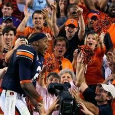 Cam Newton after a sweet victory over UGA
