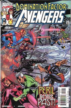 Domination Factor: Avengers # 2.4 Marvel Comics
