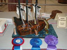 Sweet Eats Cakes: Pirate Ship Cake Tutorial Wooden Boat Plans, Wooden Boats, Pirate Birthday, Pirate Party, Pirate Ship Cakes, Boat Building Plans, Cake Tutorial, How Sweet Eats, Nautical Theme