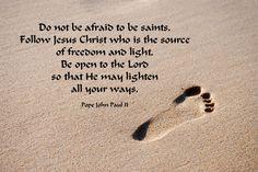 Roman Catholic Church Photo: Quote by Pope John Paul II Catholic Quotes, Religious Quotes, Catholic Beliefs, Jesus Christ Quotes, Jesus Prayer, Prayer Cards, God Jesus, Pope John Paul Ii, Paul 2