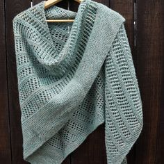 Drape yourself in the winter with the designer shawl patterns Shawl Patterns blue paris shawl toujours knitting project shared on the loveknitting community GKEACFM Shawl Patterns, Lace Patterns, Knitting Patterns, Knitting Ideas, Easy Knitting, Knitting Yarn, Knit Or Crochet, Easy Crochet Shawl, Crochet Vests
