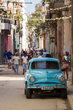 Classic American Car in Old Havana